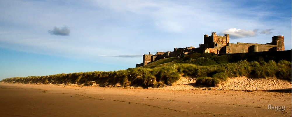 Bamburgh Castle, Northumberland, UK by flaggy