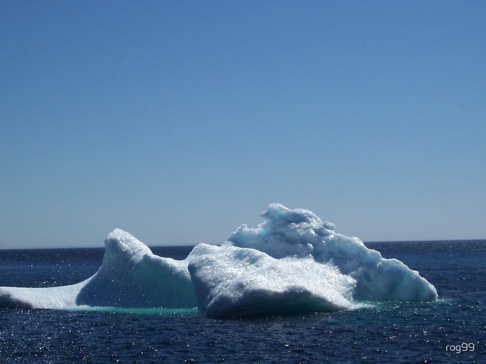 Iceberg ...near the beach by rog99