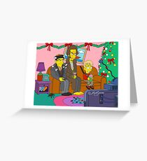 Home Alone Living Room Greeting Card