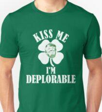 Kiss Me I'm Deplorable - President Trump Unisex T-Shirt