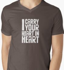 I Carry Your Heart in My Heart (White) T-Shirt