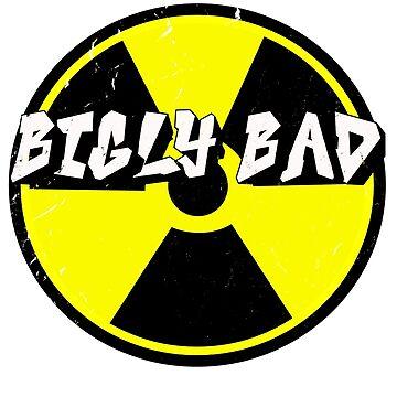 Funny Donald Trump T Shirt Uranium is Bigly Bad! by Dinosaursarecoo