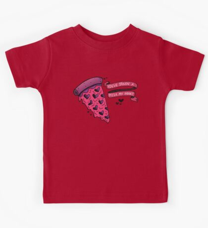 You've Stolen a PIZZA my Heart Kids Clothes
