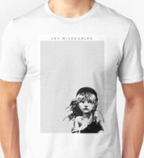 Les Miserables Musical Full Script Lyrics T-Shirt