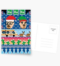 Breaking Christmas - Ugly Christmas Sweater Postcards