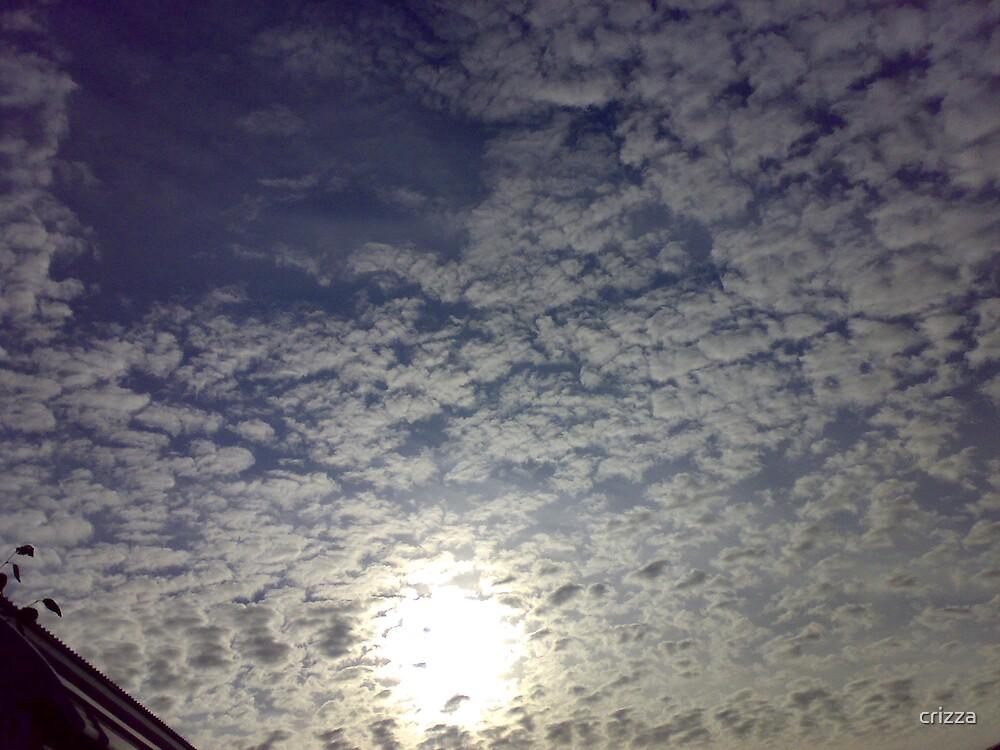 Mottled sky by crizza