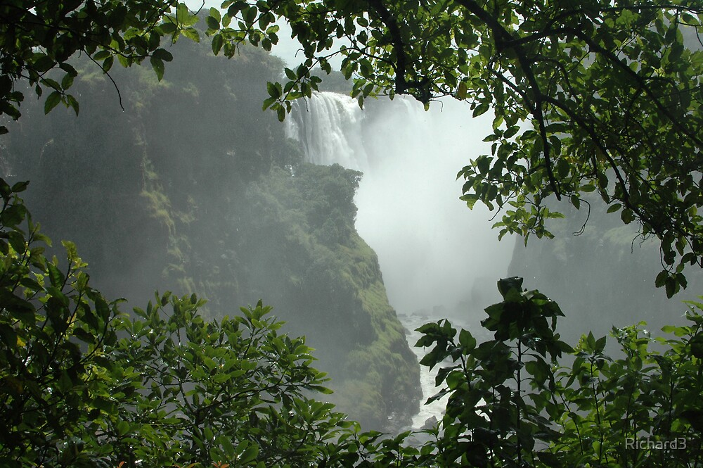 Victoria falls by Richard3