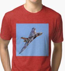 Avro Vulcan B.2 XH558 G-VLCN Tri-blend T-Shirt