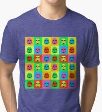 Colourful Trooper Collage Tri-blend T-Shirt