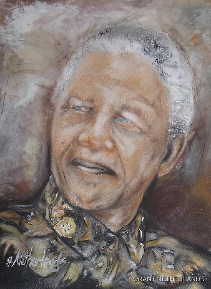 NELSON MANDELA by GRANT NETHERLANDS