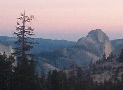 Dusk at Yosemite by Barb Stuckey
