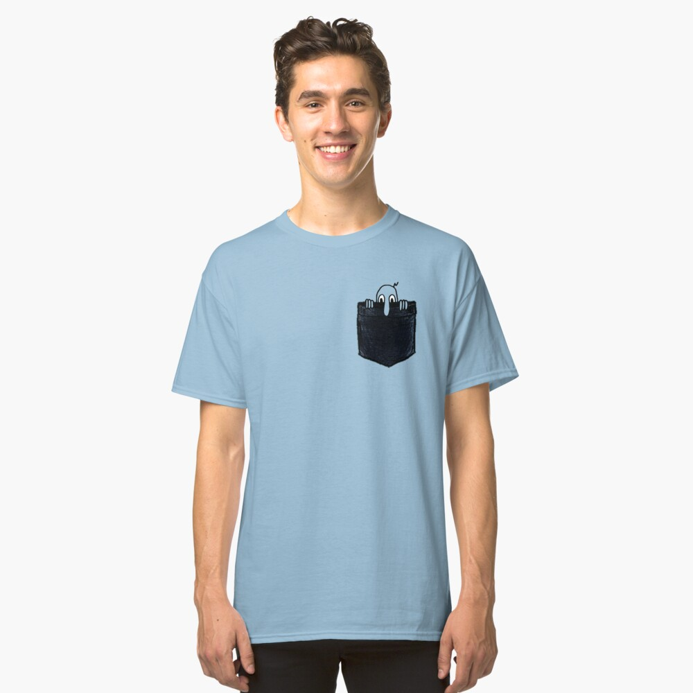 Kilroy Was Here   Pocket Full of Kilroy Classic T-Shirt Front