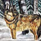 Timber Wolf by Ljartdesigns