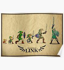Evolution of Link Poster