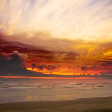Olympic Coast Sunset (9040) by blwdigital