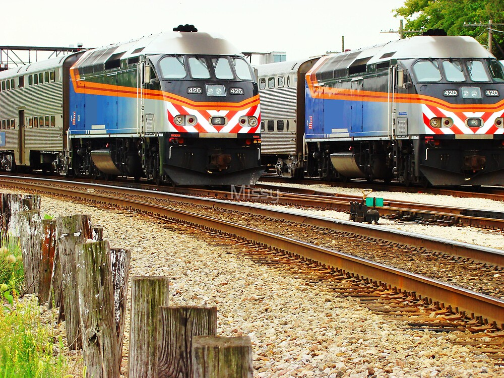 Locomotives by Missy