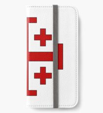Order of the Holy Sepulchre, Five-fold Cross  iPhone Wallet/Case/Skin