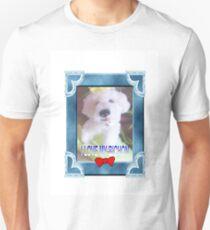 I LOVE MY BICHON BY FRANCELLE Unisex T-Shirt