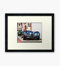 C Type Framed Print