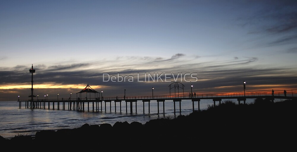 Brighton Sunset by Debra LINKEVICS