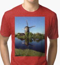 Historic Windmill Tri-blend T-Shirt