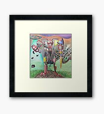 Robot future Framed Print