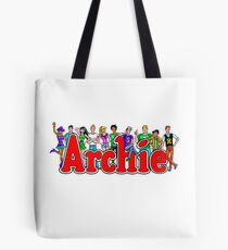 Archie Comic Book Gang Tote Bag