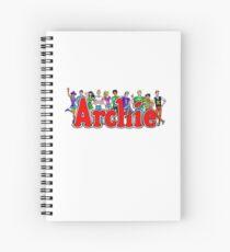 Archie Comic Book Gang Spiral Notebook