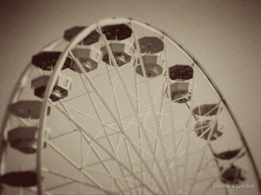 Ferris Wheel Old by Barbara Gordon