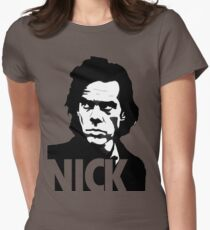 nick cave Womens Fitted T-Shirt