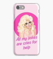Trixie Mattel Jokes - Rupaul's Drag Race iPhone Case/Skin