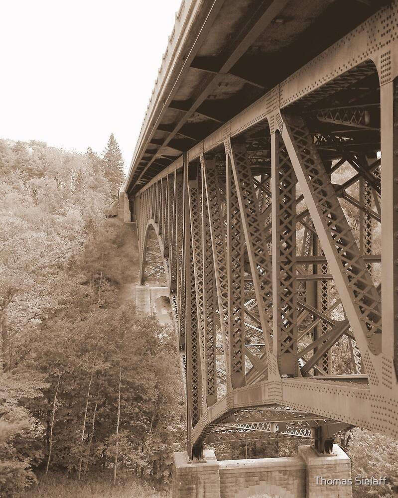 The Cut Bridge by Thomas Sielaff