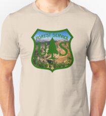 U.S. Forest Service Mountain Emblem  Unisex T-Shirt