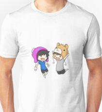 Dan and Phil sketch Unisex T-Shirt