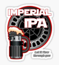 Dark Side Imperial IPA Sticker