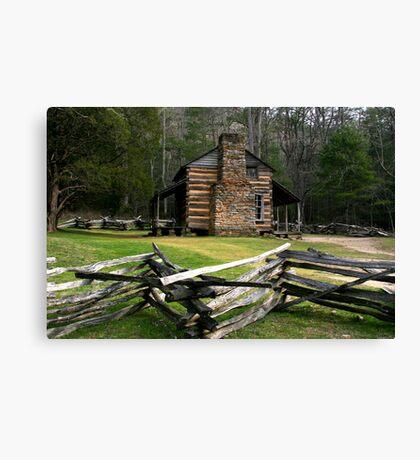 John Oliver Cabin Canvas Print