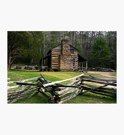 John Oliver Cabin Photographic Print