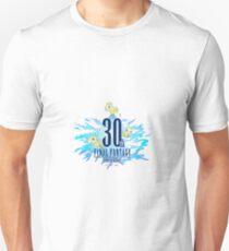 Final Fantasy 30th Anniversary Logo Unisex T-Shirt