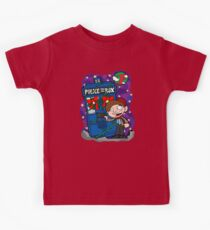 Lunar Holiday with the 11th Doctor Kids Tee