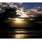 Sunrise Over Black Rocks by Paul Cotelli
