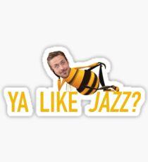 Ryan Gosling Jazz Sticker