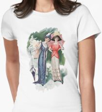 Two Women Wearing Edwardian Era Dresses T-Shirt