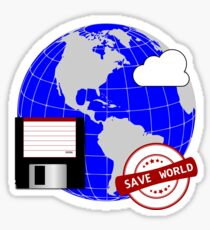 Save World Sticker