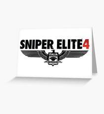 Sniper Elite 4 Greeting Card