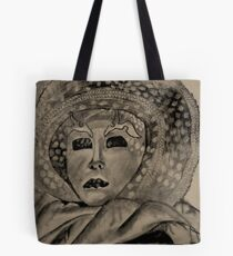Mask with Hat Tote Bag