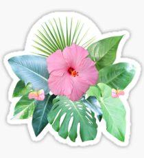 Verträumte Regenwald-Collage Sticker