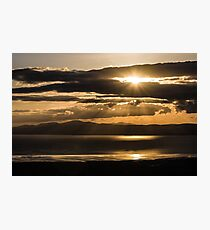 Donegal Sunset Photographic Print