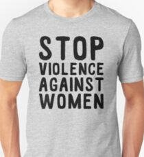 stop violence against women T-Shirt
