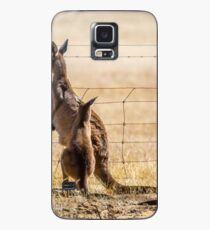 At the fence Case/Skin for Samsung Galaxy