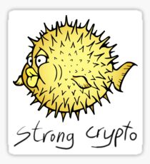 OpenBSD crypto Sticker